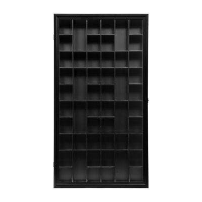 Large 17X32 Black Shot Glass Case