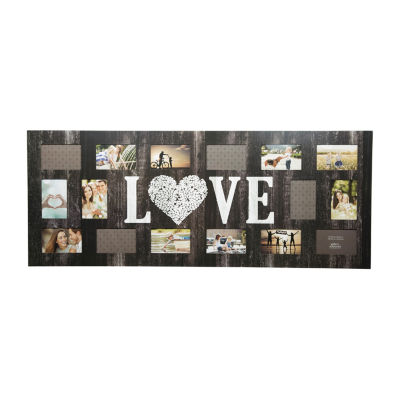 "16 Opening ""Love"" Collage Frame"""