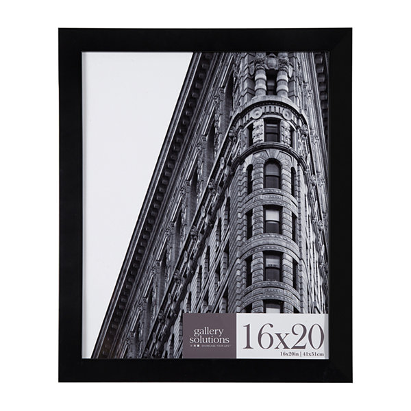 16X20 Black Flat Large Wall Frame