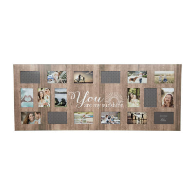 """18 Opening """"Sunshiine Collage Frame"""""""