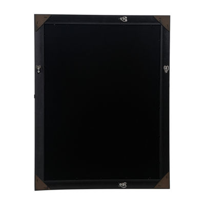18X24 Black Flat With Inner Ridge Large Wall Frame