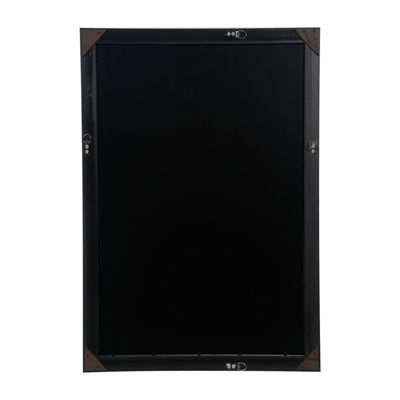 20X30 Black Flat With Inner Ridge Large Wall Frame