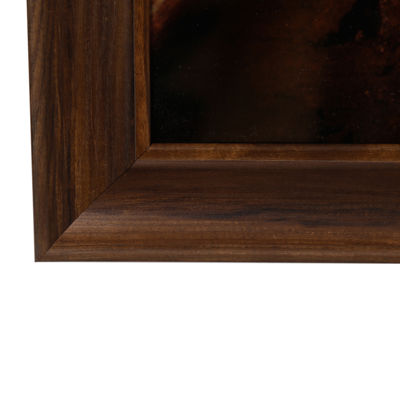 20X30 Walnut Large Wall Frame