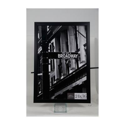 24X36 Black Flat Large Wall Frame
