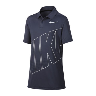 Nike Golf Polo Short Sleeve Knit Polo Shirt - Big Kid Boys