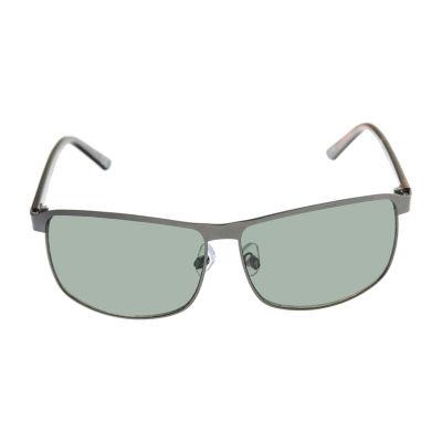 St. John's Bay Full Frame Square UV Protection Sunglasses-Mens