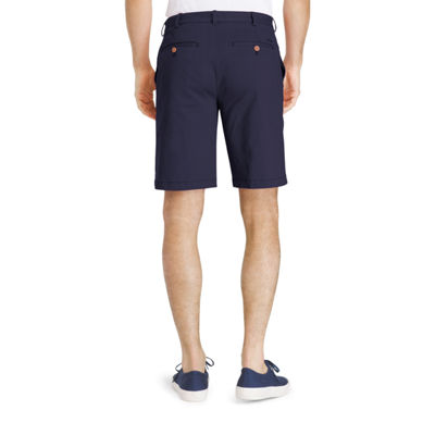 IZOD Mens Mid Rise Stretch Chino Short