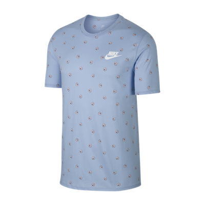 Nike Short Sleeve Asymmetrical Neck T-Shirt