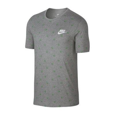 Nike Short Sleeve Asymmetrical Neck T-Shirt