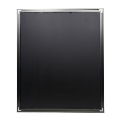 "Aluminum Vanity Mirror With 1 1/4"" Wide Moulding"