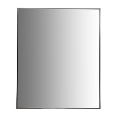 "Aluminum Vanity Mirror With 3/8"" Wide Moulding"
