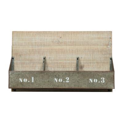 12x20 Rustic Metal Bins 1 2 3