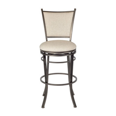 Macon Upholstered Swivel Bar Stool
