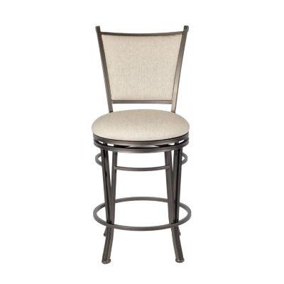 Macon Upholstered Swivel Counter Stool