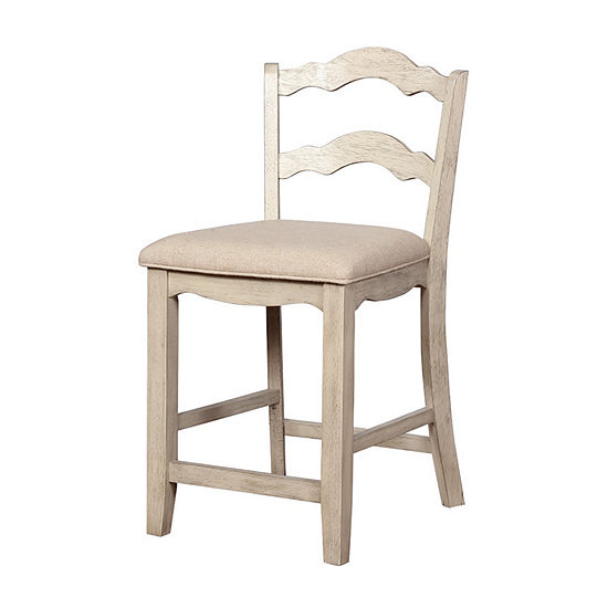 May Upholstered Counter Stool