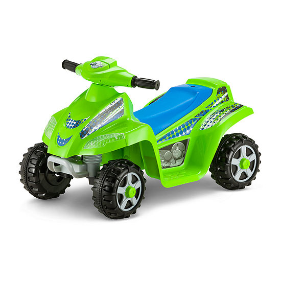 Kid Trax Moto Trax 6volt Toddler Quad Electric Ride-On