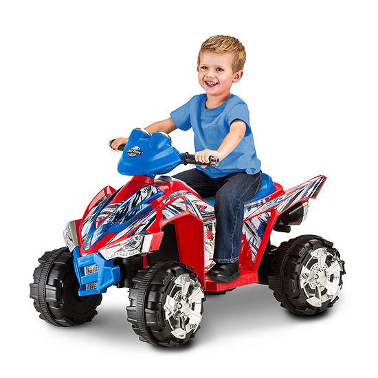 Kid Trax Atv Quad Kt670az 6volt Electric Ride-On