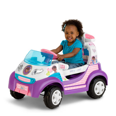 KidTrax Doc McStuffins Ambulance 6 Volt Electric Ride-on