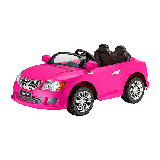 Kid Trax Cool Car 12volt Electric Ride-On In Pink