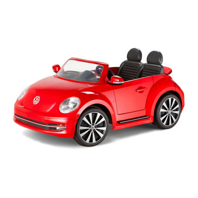 KidTrax VW Beetle 12 Volt Electric Ride-on in Red