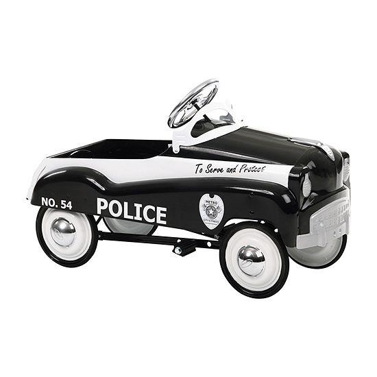 Kid Trax Instep Police Car Pedal Car