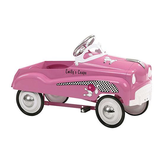 Kid Trax Instep Pink Lady Street Rod Pedal Car