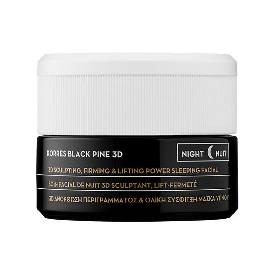 KORRES Black Pine Antiaging Firming & Lifting Sleeping Facial