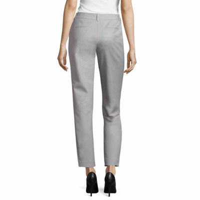 Liz Claiborne Classic Fit  Cotton Emma Pant - Tall