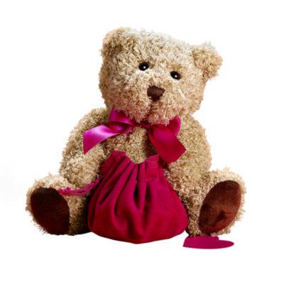 Plush Bear Jewelry Holder