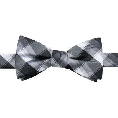 JF J.Ferrar Plaid Bow Tie