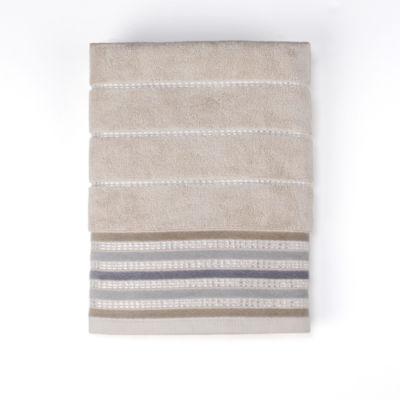 Saturday Knight Colorware Stripe Bath Towel