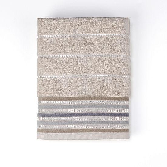 Saturday Knight Colorware Stripe Striped Bath Towel
