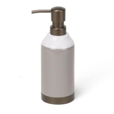 Saturday Knight Colorware Stripe Soap Dispenser