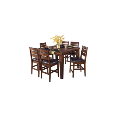 Signature Design by Ashley® Larchmont 7-Pc Counter Height Dining Set