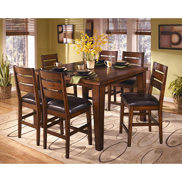 Signature Design By Ashley® Larchmont 7 Pc Counter Height Dining Set