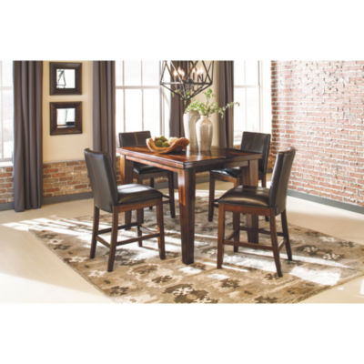 Signature Design by Ashley® Larchmont 5-Piece Counter Height Dining
