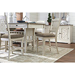 Signature Design by Ashley® Roanoke 5-Piece Counter Height Rectangular Dining