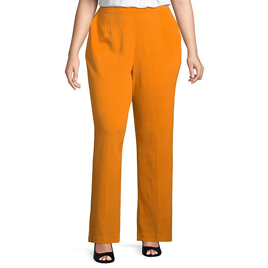 2dda4d7b5bc42 Alfred Dunner Still My Sunshine Classic Fit Pant Plus JCPenney
