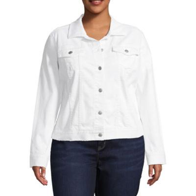 Boutique + Denim Jacket - Plus