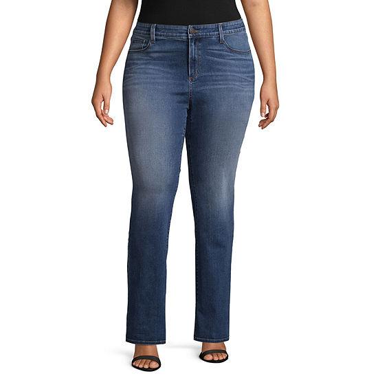 b3d35a35496 Boutique + Slim Fit Bootcut Jeans Plus JCPenney