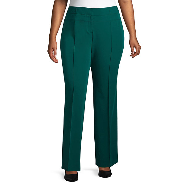 Worthington Seam Detail Pant - Plus