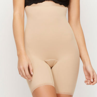 Hookedup High Waist Shaping Mid Thigh Body Shaper - 1074