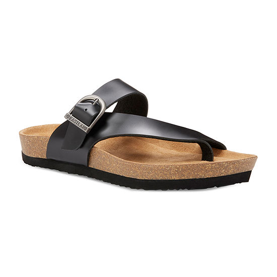 Eastland Womens Shauna Adjustable Strap Flat Sandals