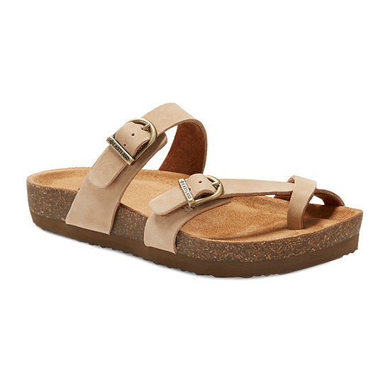 Eastland Womens Tiogo Adjustable Strap Flat Sandals