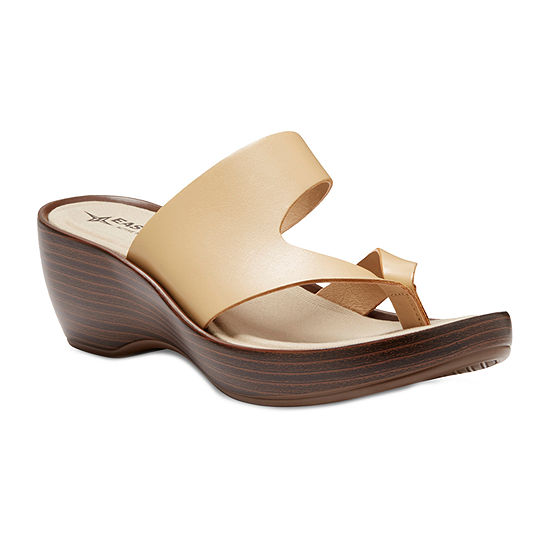 Eastland Womens Laurel Wedge Sandals Jcpenney