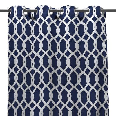 Grommet-Top Outdoor Curtain Panel