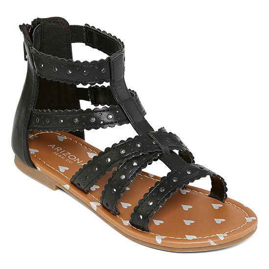Arizona Little Kids Girls Candy Gladiator Sandals