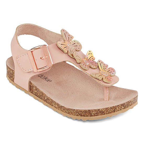 Okie Dokie Lil Mocha Girls Footbed Sandals