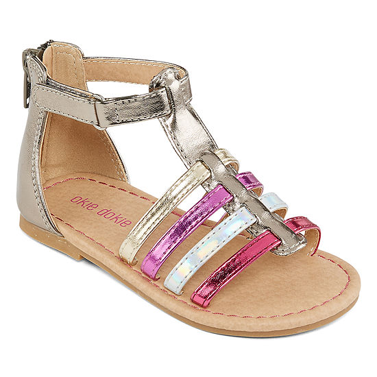 Okie Dokie Toddler Girls Lil Carla Gladiator Sandals