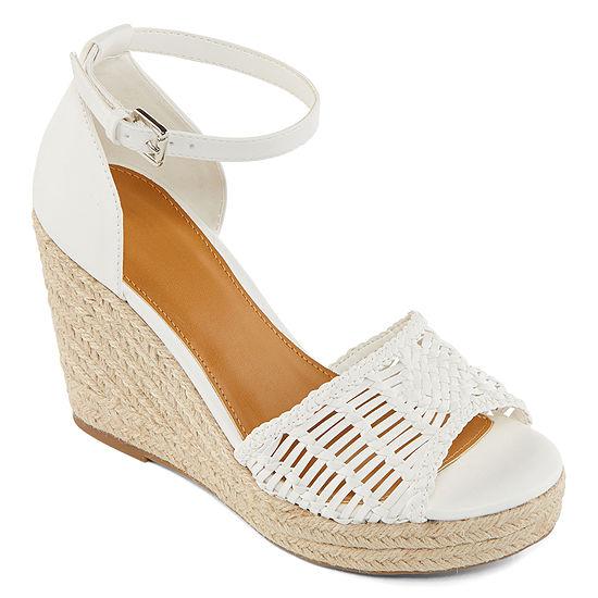 a.n.a Womens Horizon Wedge Sandals